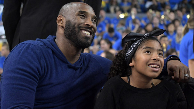 Kobe Bryan and Daughter Gianna